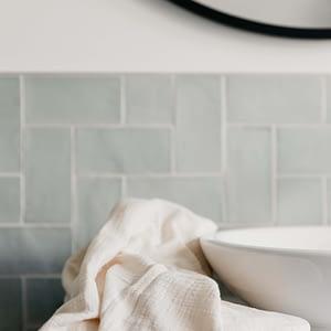 Hydrofiele handdoek XL kokos wit (set van 2)