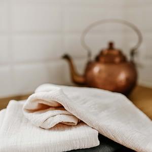Hydrofiele handdoek small olijfgroen (set van 2)